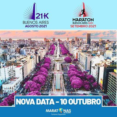 Maratona e Meia Maratona de Buenos Aires 2021
