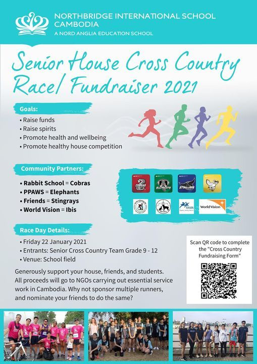 Senior House Cross Country Race / Fundraiser 2021, 22 January | Event in Phnom Penh | AllEvents.in