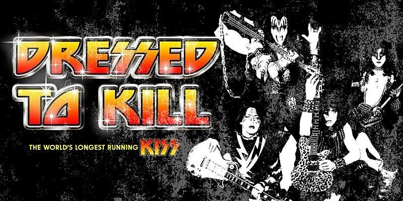 KISS - Dressed To K*ll, 31 July | Event in Wigan | AllEvents.in