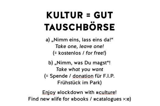 Kultur = Gut Tauschbörse   Event in Vienna   AllEvents.in