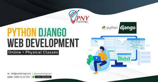 Python Django Web Development (Arfa Tower), 17 April   Event in Lahore   AllEvents.in