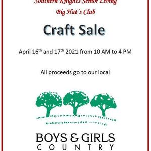 Southern Knights Senior Living Craft Sale
