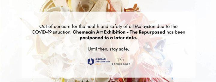 CHEMSAIN ART EXHIBITION 2021, 1 August   Event in Kuching   AllEvents.in