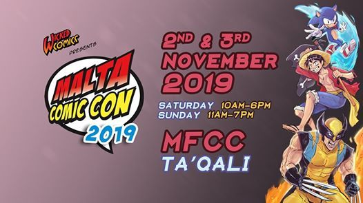 Malta Comic Con 2019  Your Home Your Place to Shine