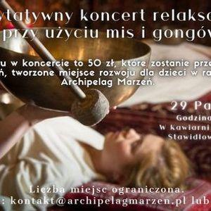 Uzdrawiajce wibracje i dwiki - koncert charytatywny Elblg