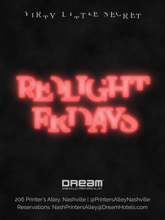 Redlight Fridays at Dirty Little Secret Free Guestlist - 10182019