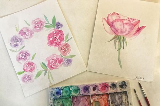 Roses in Watercolour, 31 October | Event in Manly | AllEvents.in