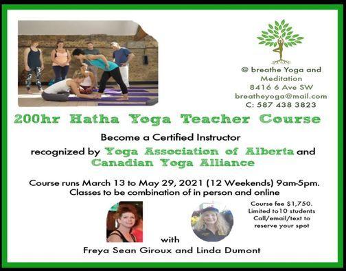 200 Hr Yoga Teacher Training Course, 13 March | Event in Edmonton | AllEvents.in