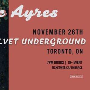 Mac Ayres at Velvet Underground  Nov 26