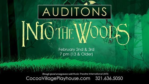 Auditions  Into the Woods