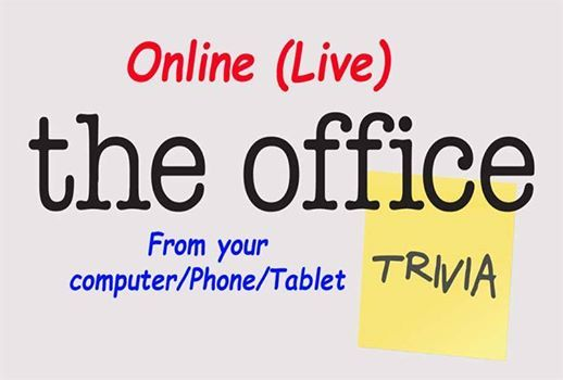 The Office Trivia NightFundraiser (Online)