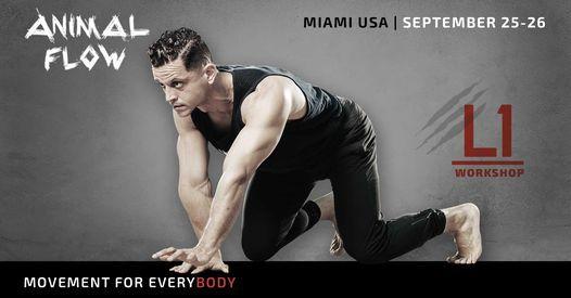 Animal Flow L1 Miami | Event in Miami | AllEvents.in
