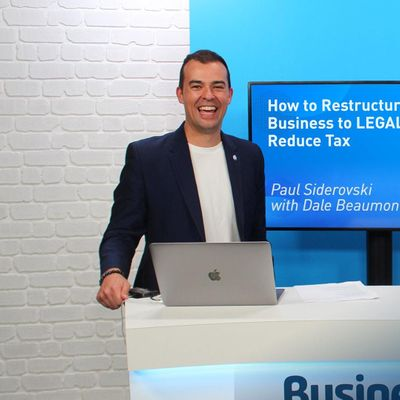 BB LIVE How to Restructure Your Business to LEGALLY Reduce Tax