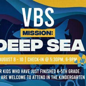 Summer Blast VBS- Mission Deep Sea