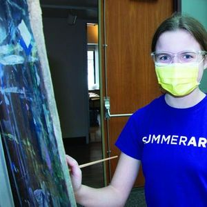 SummerArt Session 2 Oil & Acrylic Easel Painting - Ages 1215