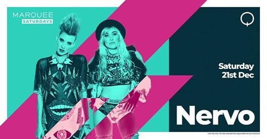 Marquee Saturdays - NERVO