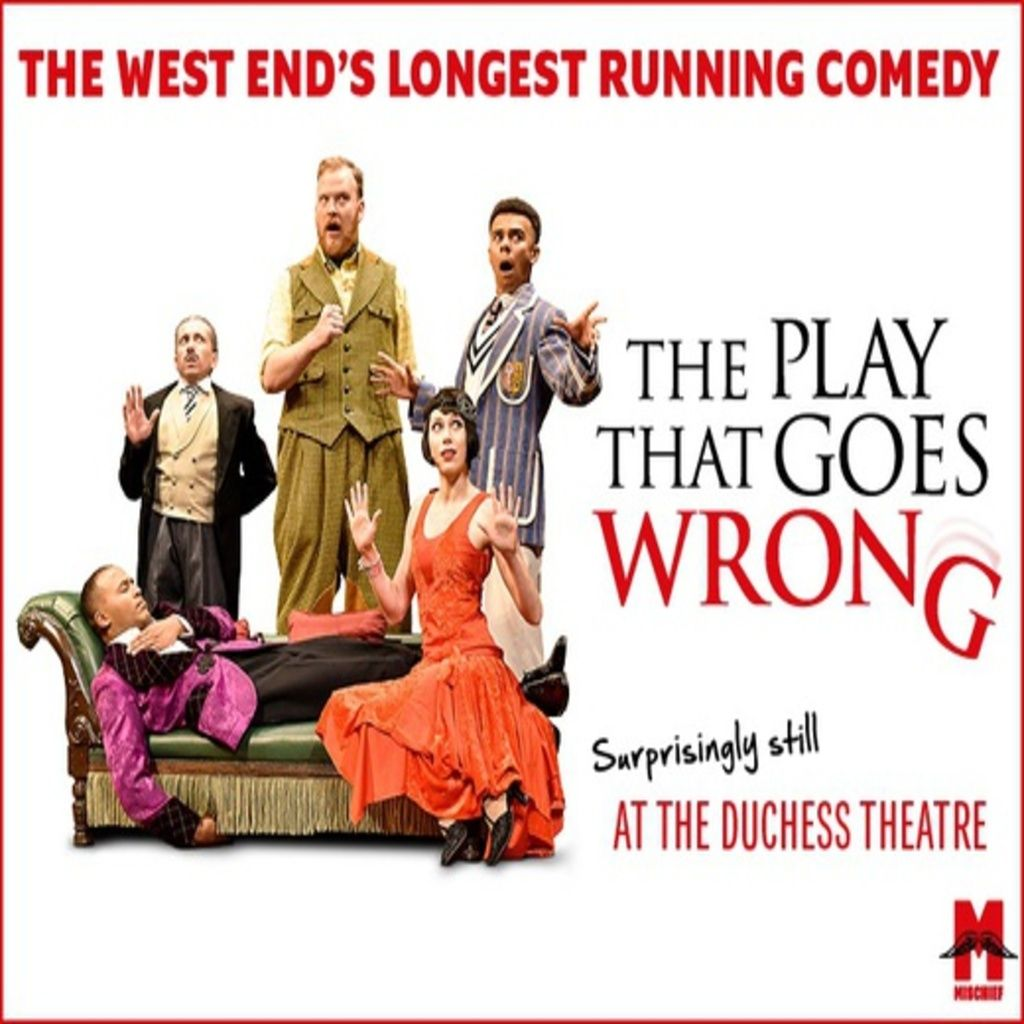 The Play That Goes Wrong, 26 October   Event in London   AllEvents.in