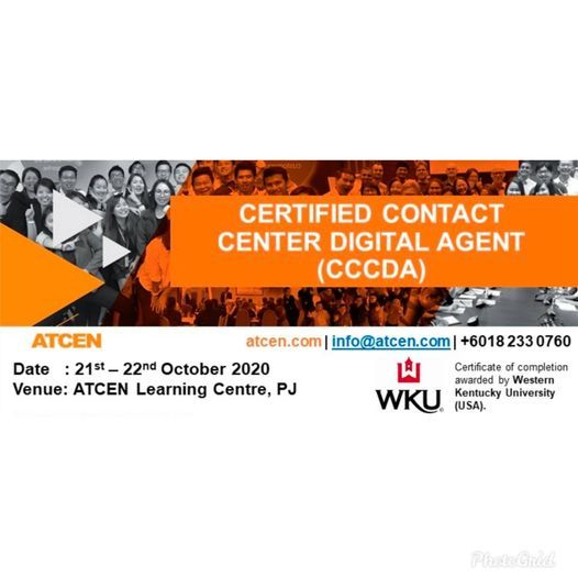 Certified Contact Center Digital Agent | Event in Petaling Jaya | AllEvents.in