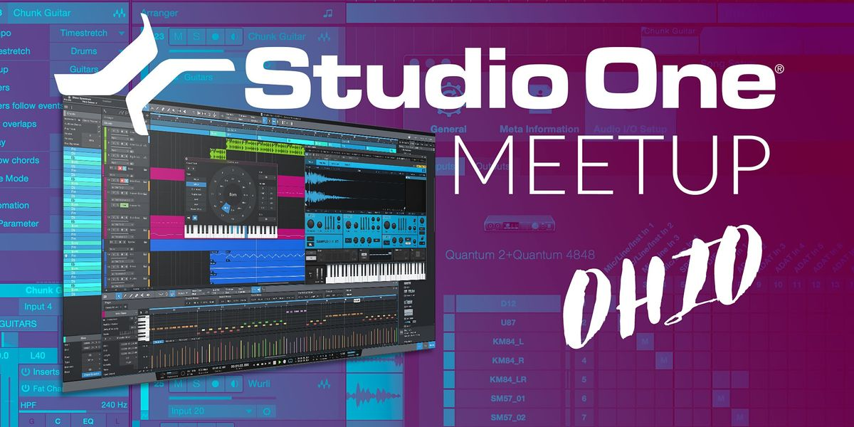 Studio One E-Meetup - Ohio   Online Event   AllEvents.in