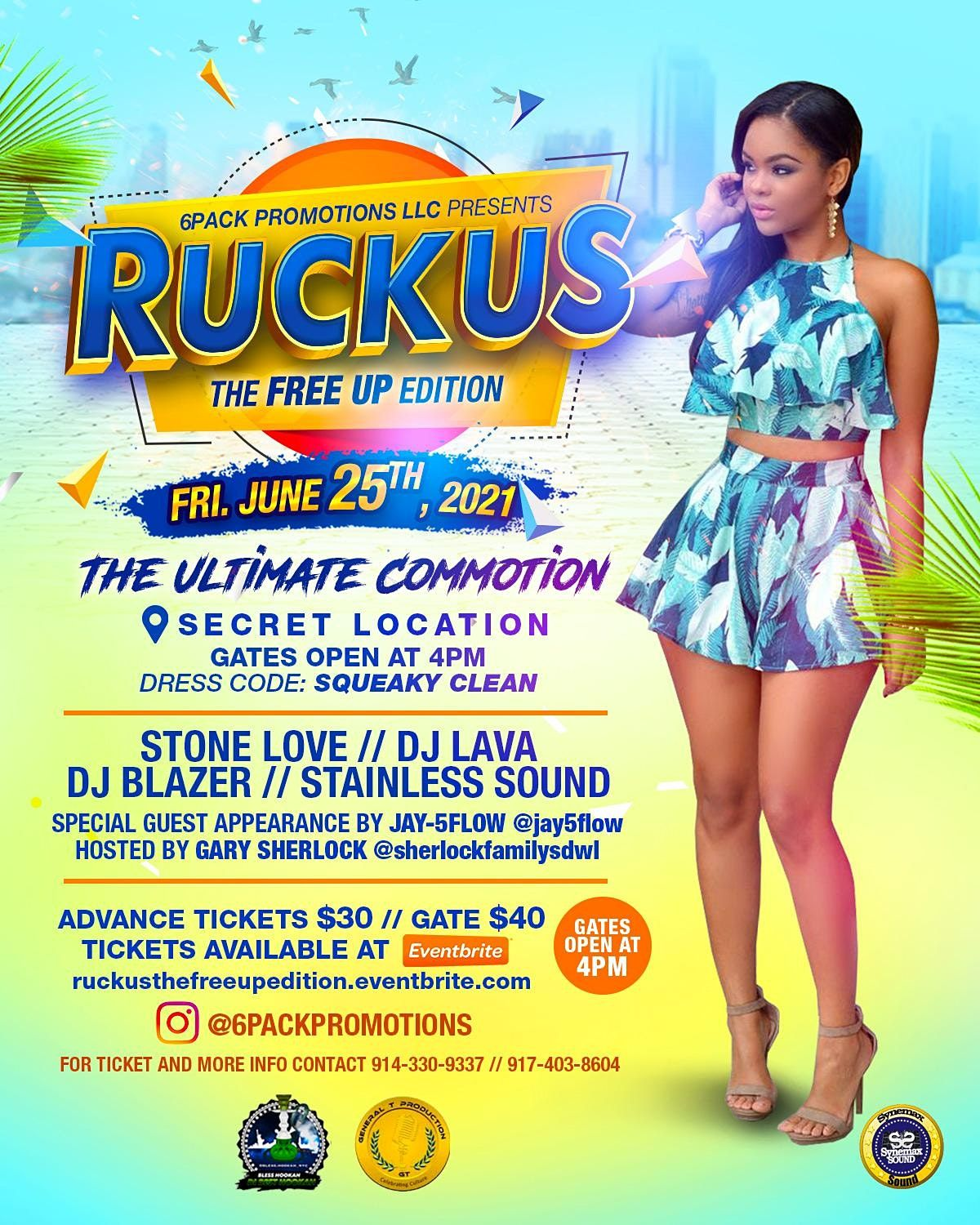 RUCKUS: The FreeUp Edition, 25 June | Event in Bronx | AllEvents.in
