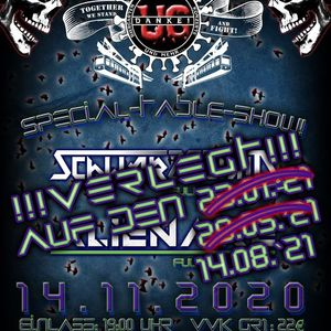 Verlegt Special Table Show Schwarzschild & Alienare - LIVE