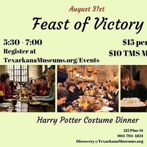 Harry Potter Month Feast of Victory