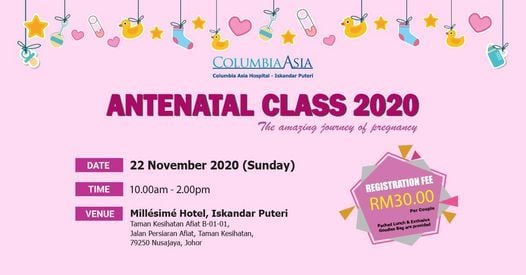Antenatal Class: The Amazing Journey of Pregnancy | Event in Johor Bahru | AllEvents.in