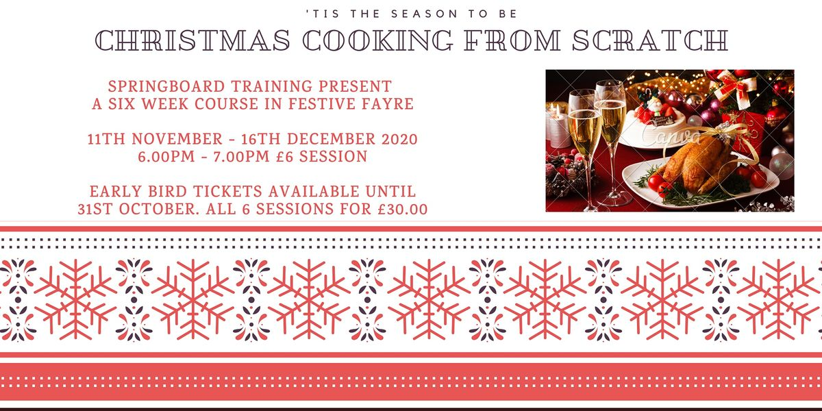 Christmas Cooking From Scratch!   Online Event   AllEvents.in