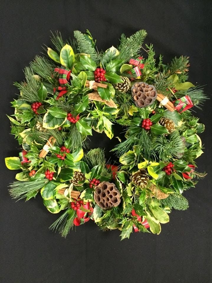 Christmas Wreath Making, 7 December   Event in Sheffield   AllEvents.in