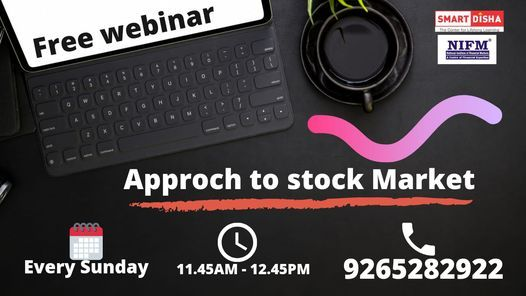 "Free webinar on ""Approch to stock Market"", 25 April 