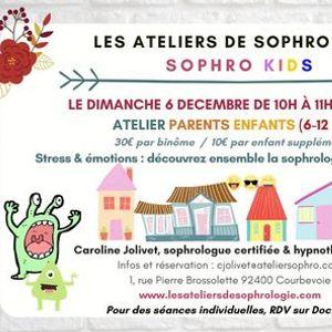Atelier parents  enfants sophrologie & mditation  Courbevoie