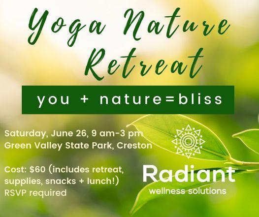 Yoga Nature Retreat, 26 June | Event in Creston | AllEvents.in