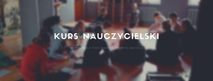 Kurs Nauczycielski Jogi - otwarte zapisy - 06.2021 - 11.2022, 26 June | Event in Gdansk | AllEvents.in