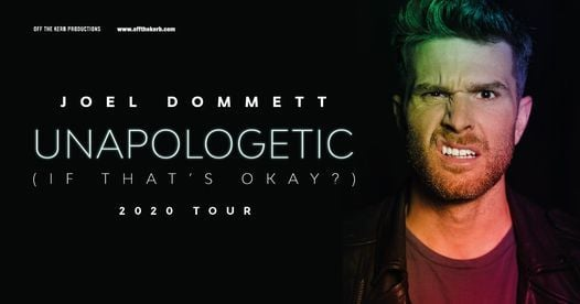 Joel Dommett: Unapologetic (If That's OK?), 29 October | Event in Hastings | AllEvents.in