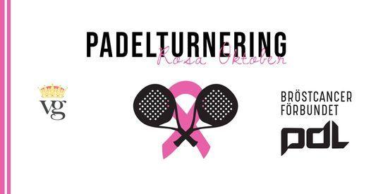 PADELTURNERING  x ROSA OKTOBER, 16 October | Event in Lund | AllEvents.in