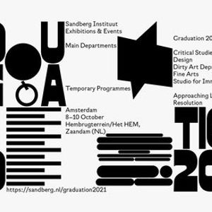 Save the date Sandberg Graduation 2021