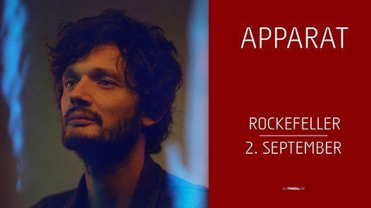 Apparat / Rockefeller / Pres. av All Things Live, 2 September | Event in Oslo | AllEvents.in