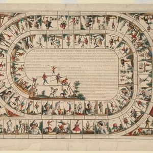 Online talk Timeless play - 18th and 19th century board games