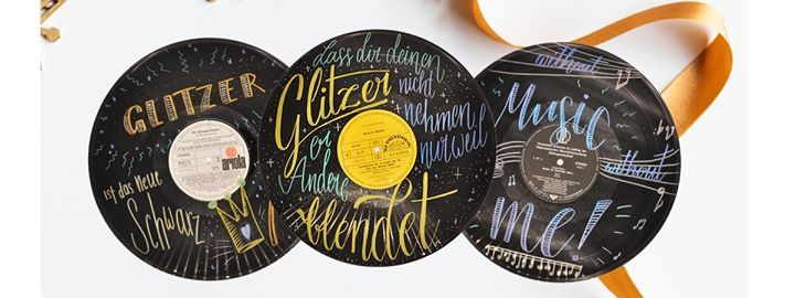 Vinyl Schallplatten Upcycling x Feschmarkt Linz 5