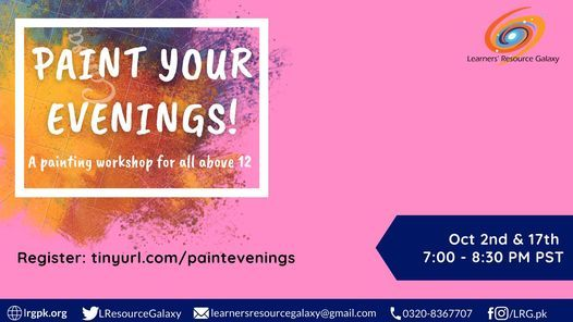 Paint Your Evenings! | Event in Karachi | AllEvents.in