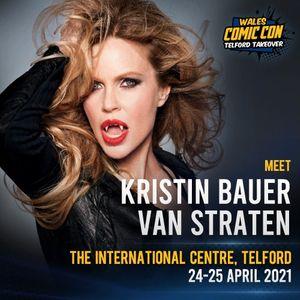 Kristin Bauer Van Straten  Wales Comic Con Telford