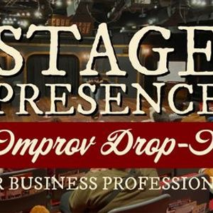 Improv For Adults Summer 2021 Drop In Stage Presence