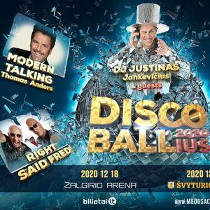 DISCO BALLius 2021  Kaunas