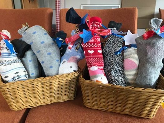 Socks of Care Christmas Campaign