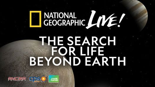 National Geographic Live The Search for Life Beyond Earth