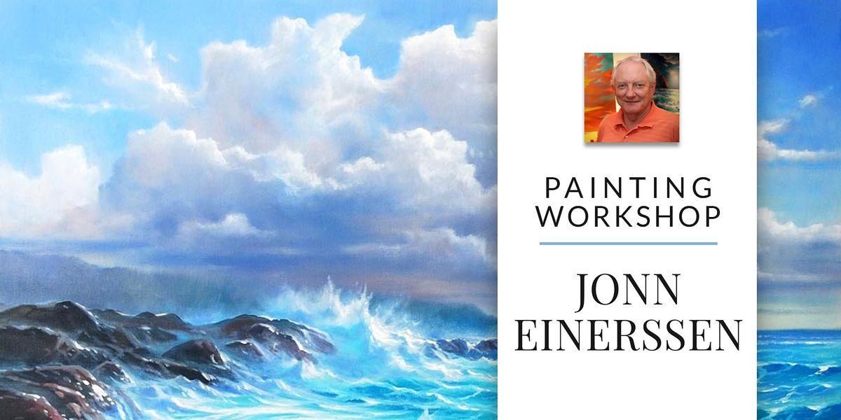 Painting Workshop with Artist Jonn Einerssen, 25 September | Event in Sherwood Park | AllEvents.in