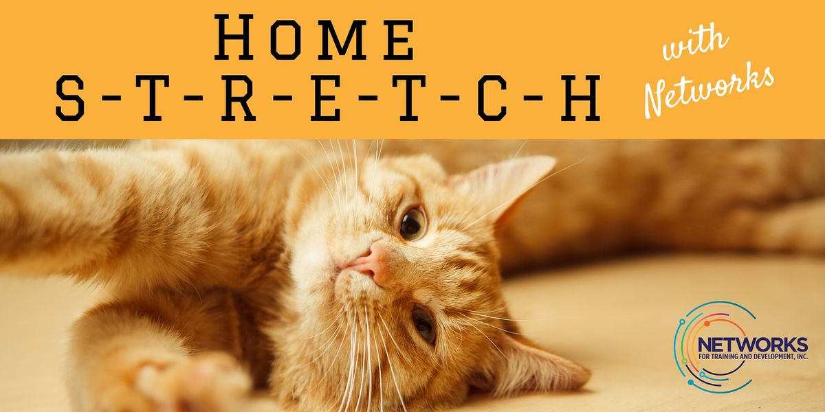 Home S-T-R-E-T-C-H with Networks, 26 May   Online Event   AllEvents.in