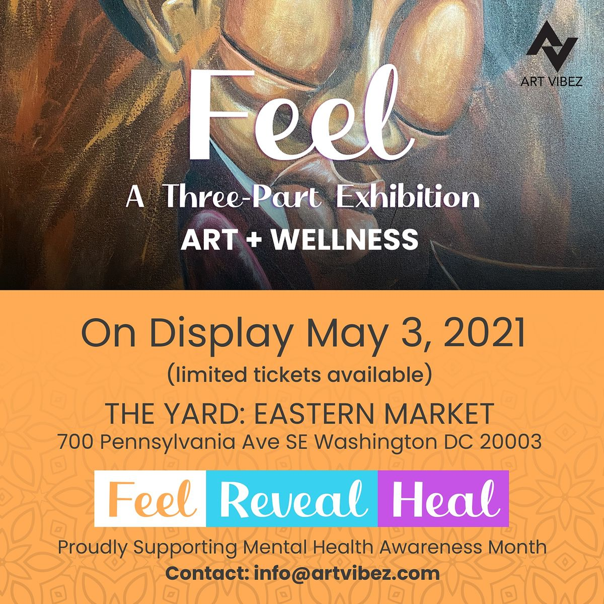 FEEL - Art Exhibition | Event in Washington | AllEvents.in