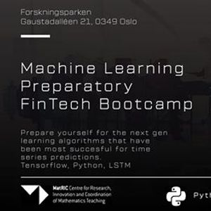 Fintech ML Bootcamp  All-Inclusive