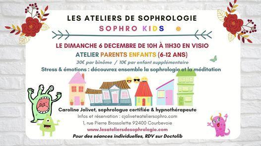 Atelier parents / enfants sophrologie & méditation à Courbevoie, 6 December | Online Event | AllEvents.in